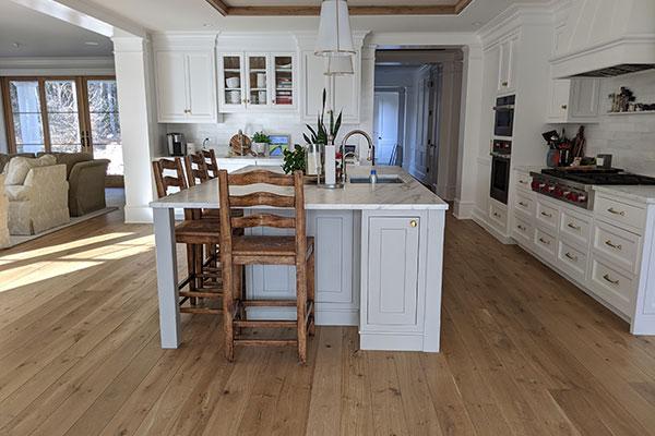 Beautiful kitchen with hardwood floors
